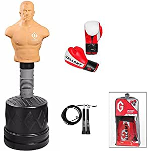 Gallant Free Standing Punching Ball Boxe Partner Slam homme Torse mannequin ultra résistant