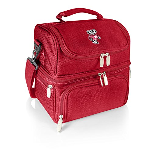Picnic Time NCAA Pranzo Isolierte Lunch-Tasche, Unisex, rot Coll Box