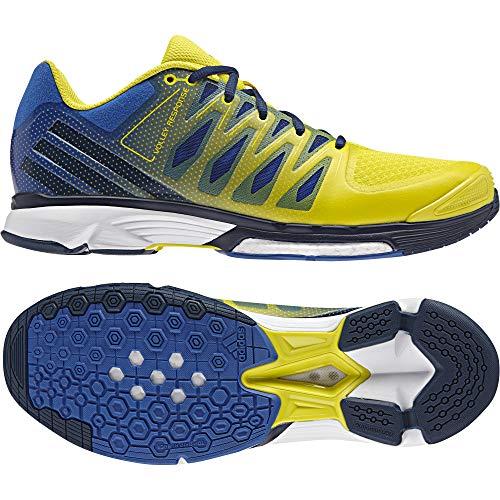 adidas Herren Volley Response 2 Boost Volleyballschuhe, Blau (Azul/azumis/amabri), 45 1/3 EU