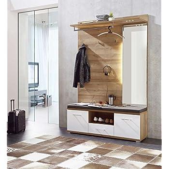 garderobe set garderobenschrank flurgarderobe garderobenm bel dielenm bel flurm bel. Black Bedroom Furniture Sets. Home Design Ideas