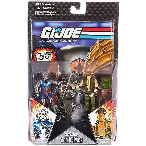 Hasbro - Figurine G.I. JOE comics pack: Cobra commander &