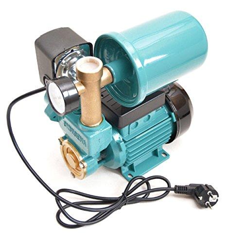 Hauswasserwerk Set 2 Liter Druckbehälter Gartenpumpe 250 Watt 2100 L/h 3,3 bar