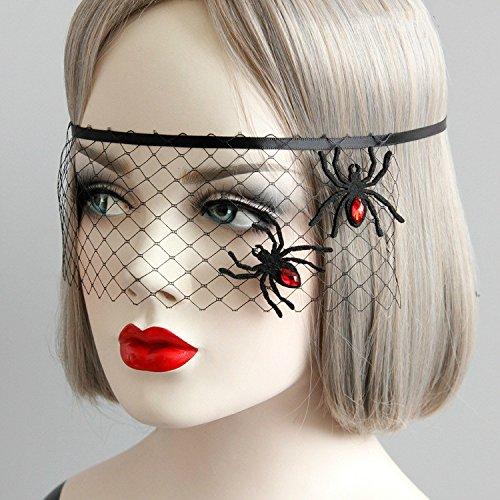 Wansan Lace Maskerade Maske venezianischen Halloween Kostüm Sexy -