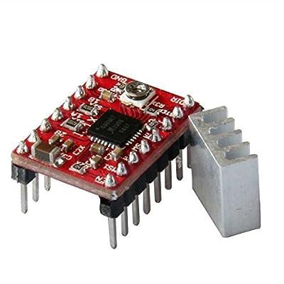 REES52 A4988 Stepper MotorDriver(with Heatsink,2A)