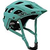 IXS Trail RS EVO, casco da mountainbike enduro, colore turchese, misura M/L