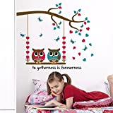 Jaamso Royals ' Children Room Cartoon Wall Sticker For Kids Room Decor' Wall Sticker (PVC Vinyl, 30 Cm X 60 Cm, Children's Room Décor Stickers)