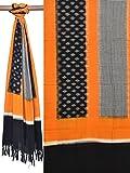 Uppada Women's Cotton Dupatta (ds1271_Yellow_Free Size)