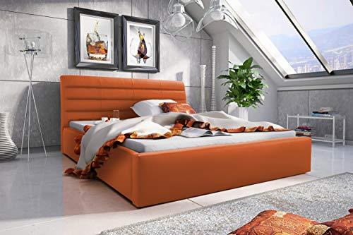 Best For Home Polsterbett Boxspringbett EMI mit Luxus 7-Zonen Taschenfederkernmatratze oder Bonellfederkernmatratze in Härtegrad H2, H3, H4