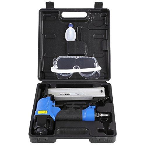 FEMOR Druckluft-Nagler 15-50mm inkl. Koffer + Sechskant + Ölflasche