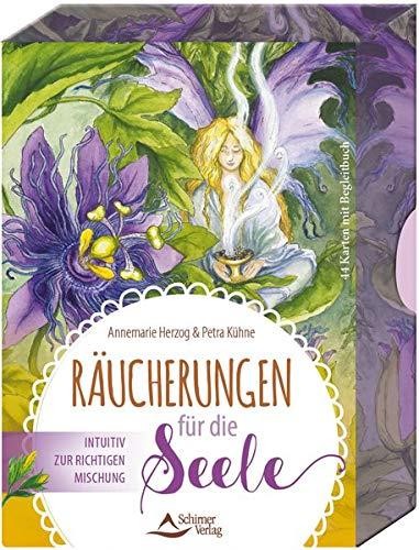 SET-Räucherungen für die Seele: Intuitiv zur richtigen Mischung - 44 Karten mit Begleitbuch