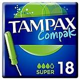 Tampax compak super 18 tampons