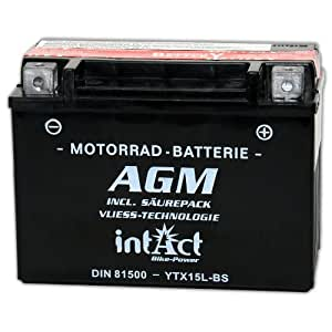 intact Bike Power AGM 12 V 13 Ah 81500 ytx15l de BS
