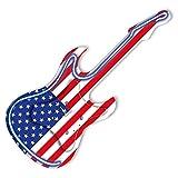 Pendule en forme guitare neon Etats-Unis