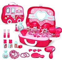 JEJA Role Playset Toy Pretend Kitchen/Tool/Dressing table/Doctor, Ideal Gift for Kids Children Boys