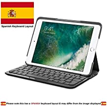 Logitech 920-007612 Canvas Folio Case con Teclado Integrado en Español para iPad Mini 1