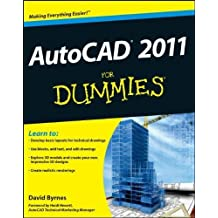 AutoCAD 2011 For Dummies by Byrnes, David (2010) Paperback