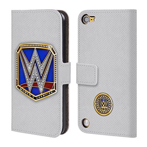 Ufficiale WWE Smackdown Women's Champion Fascia Della Vittoria Cover a portafoglio in pelle per iPod Touch 5th Gen / 6th Gen
