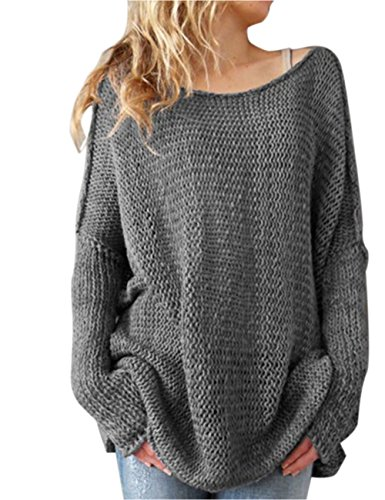 shermie Ladies Thin O Neck Long Sleeve Knitted Plain Jumper Women Sweater Pullover with Thumb Hole on Sleeve