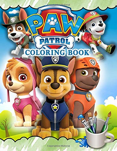Paw Patrol Coloring Book Paw Patrol Jumbo Coloring Book With High Quality Images For All Funs