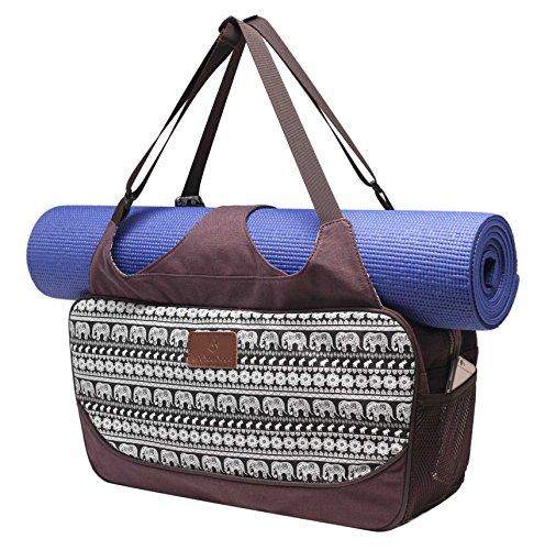 Bolsa de yoga «Vimalaa» de #DoYourYoga fabricada con lona (lienzo de algodón),...