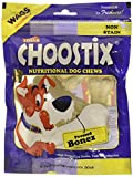 #7: Choostix Pressed Dog Bone, Mini (3-inch x 6 Pieces)