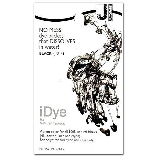 Jacquard iDye Poly tissu colorant 14 grammes-noir 454