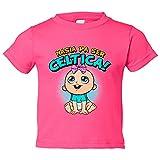 Camiseta niño nacida para ser Céltica Celta fútbol - Rosa, 3-4 años