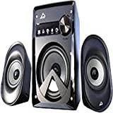SPEAKAR 1220 2.1 Channel Multimedia Speakers System (Black)