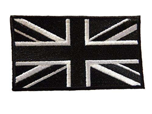 2x-union-jack-black-white-flag-sew-or-iron-on-patch-with-lock-stitch