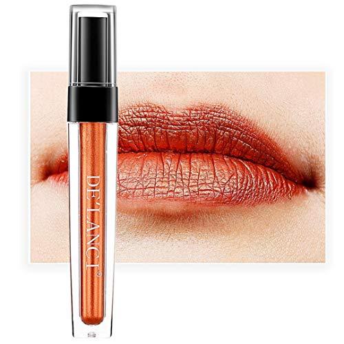 (DingLong Einlippiger, Glatter, Matter Lipgloss, Wasserfeste, antihaftbeschichtete Tasse für Sicheren Lippenstift (G))