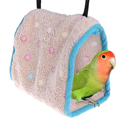 Autone Winter Warm Bird Nest Haus, Vogel Warm Hut Käfig für Papagei Ara Sittiche Nymphensittiche Kakadu Sittiche