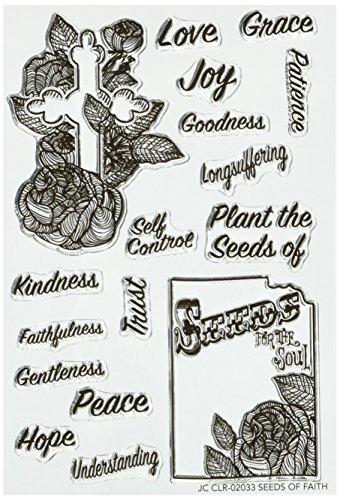 Joy Clair Samen Of Faith   Bibel Journaling Briefmarken, transparent