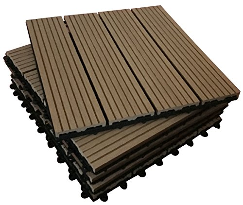 36-x-interlocking-composite-piastrelle-teak-click-deck-patio-giardino-balcone-vasca-idromassaggio-30
