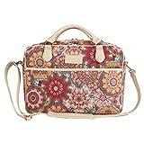 Tapisserie Aktentasche für Damen geeignet als modische Laptoptasche bis 15.6', im Signare Stil Kaleidoskop