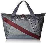 adidas Studio Duffel Bag, Herren, Jersey Onix/Onix/Maroon, Einheitsgröße