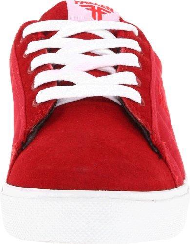"""Fallen BOMBER Kids """"43070011 """" Unisex-Kinder Sneaker Rot (Red/White)"""