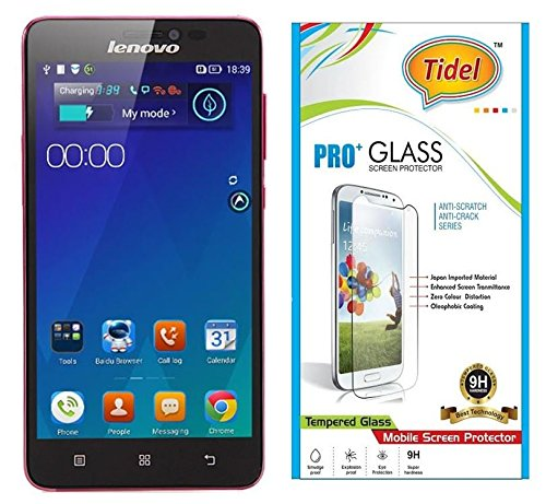 Tidel New 2.5D Curved Tempered Glass Screen Guard Protector For Lenovo S850  available at amazon for Rs.109