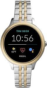 Fossil Smartwatch GEN 5 + 5E Connected da Donna con Wear OS by Google, Frequenza Cardiaca, Notifiche per Smartphone e NFC