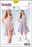 Burda Schnittmuster Kleid 6793