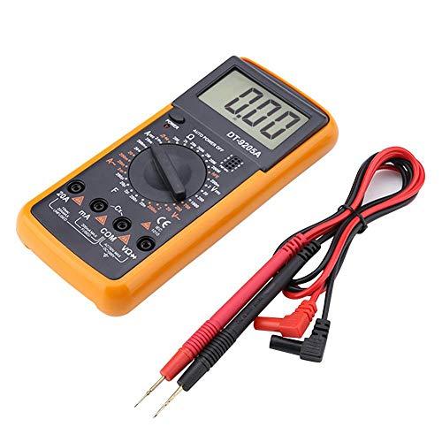 Pbzydu DT9205A Digital Clamp Multimeter, LCD Display Handheld AC/DC Widerstands Kapazitätsprüfgerät für die elektrische Wartung und Prüfung
