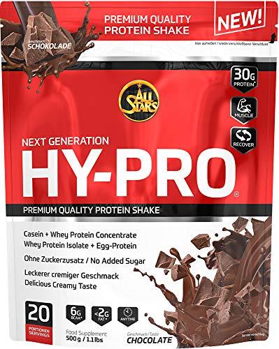 All Stars Hy-Pro Protein, Schoko, 1er Pack (1 x  500 g)