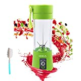 Portable Blender Smoothie Maker - 6 Blades & USB Rechargeable - Personal Mini