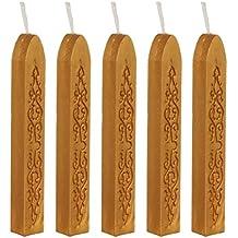 Binnan 12 St/ück Antike Siegelwachs,Siegellack Sticks f/ür Vintage Wachs Siegel Stempel