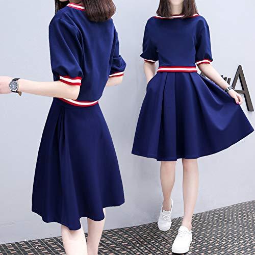 QAQBDBCKL Harajuku Mädchen Weichen Schwester Lolita Kleid Tägliche Studenten Lange Mode Lolita Kleid Größe S-XXXL