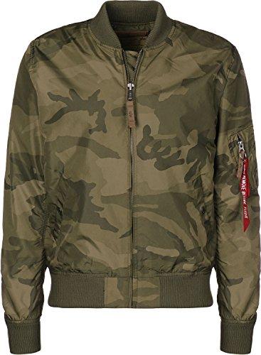 Alpha Industries Herren Jacken/Bomberjacke MA-1 TT Camouflage S Alpha Industries Flight Jackets