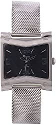 ROCHEES Smart Watches Analogue Black Dial Men's Watches _1500-872G SIL BLK