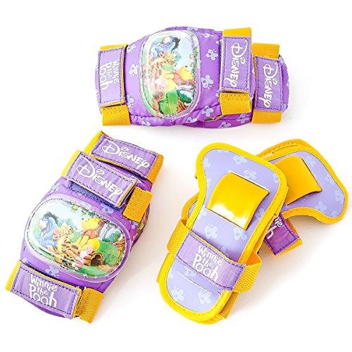Disney Winnie Puuh Protektoren Set Knieschoner Ellenbogenschoner 7 teilig + Rucksack