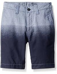 Nautica Big Boys' Printed Chambray Short