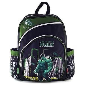 Hulk Black Sac à Dos Enfants Petit 38 cm Multicolore (Noir/Vert)