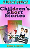 Easy Readers For Kids Collection 4: 3 Short Stories in 1 Ebook  (Books about Santa, Rudolph, animals, planets, kittens)   Perfect for kids under 10 learning to read!